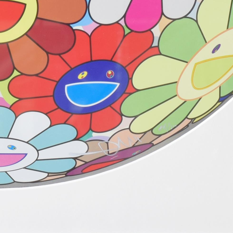 村上隆フラワーボールナンバリング